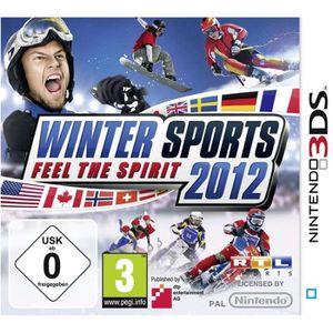 JEU 3DS WINTER SPORTS 2012 / Jeu console 3DS