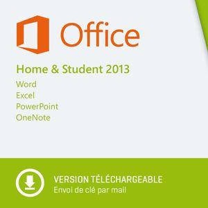 Pack office 2013 prix pas cher soldes cdiscount - Office famille et etudiant 2013 1 pc ...
