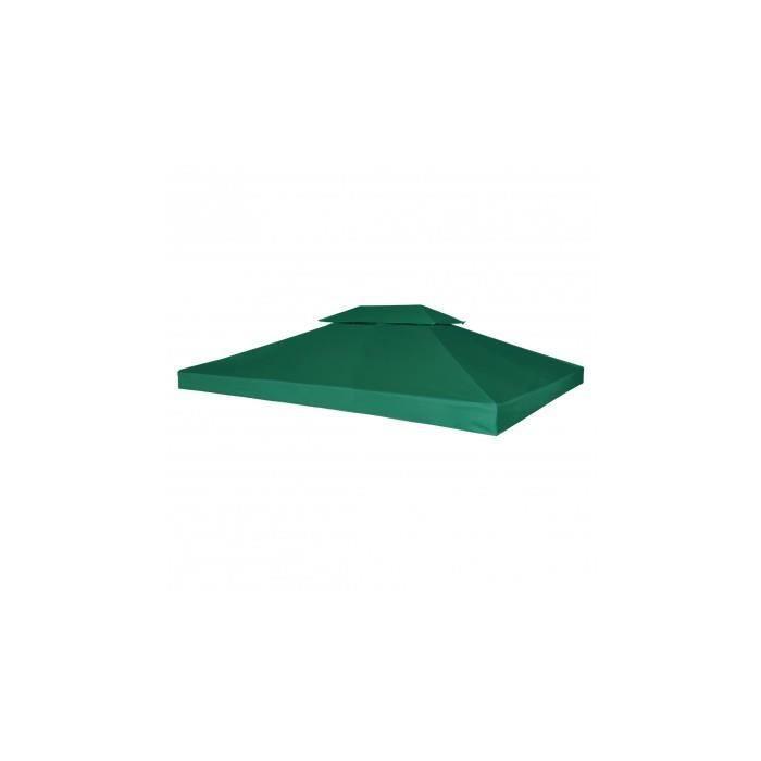 Toile de rechange pour pergola vert 270 g m achat for Toile verte pour jardin