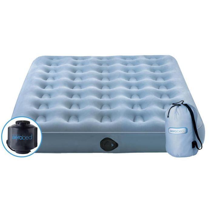 matelas gonflable aerobed essential overnighter achat vente matelas lit de camp matelas. Black Bedroom Furniture Sets. Home Design Ideas