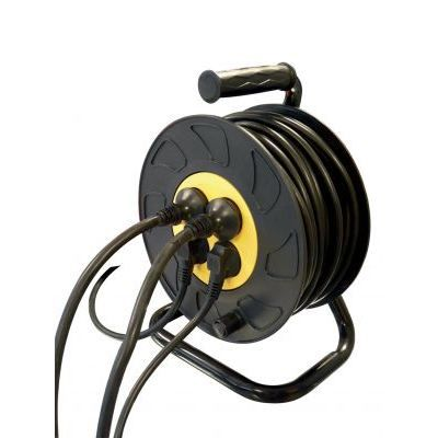 Enrouleur electrique 25 metres 4 prises achat - Enrouleur electrique vide ...