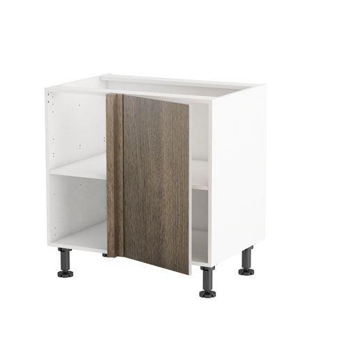 Meuble cuisine angle le tiroir multi tout porte de main for Meuble cuisine angle bas
