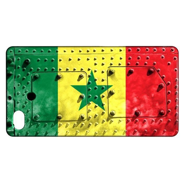 telephonie accessoires portable gsm coque iphone  s drapeau senegal f auc