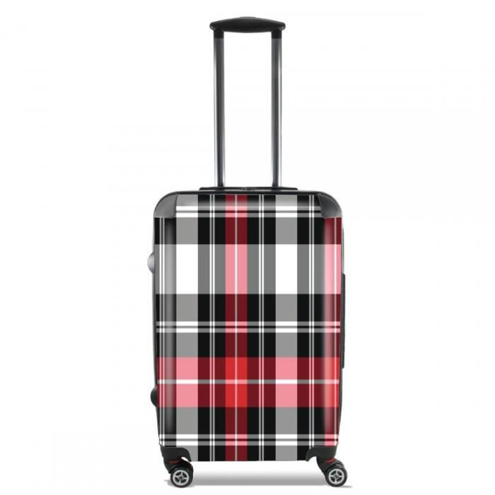 valise rouge ecossais bagage cabine achat vente valise bagage valise rouge ecossais bagag. Black Bedroom Furniture Sets. Home Design Ideas