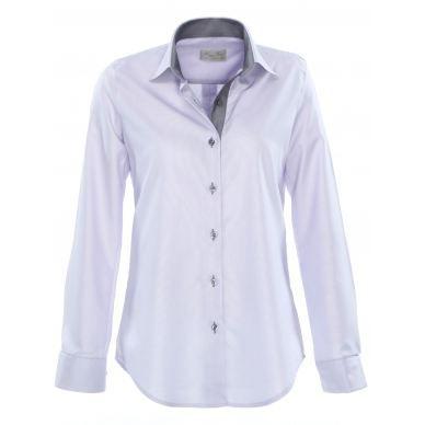 chemisier cintr femme karine en parme gris parme gris achat vente chemisier blouse. Black Bedroom Furniture Sets. Home Design Ideas