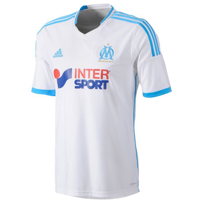 maillot de foot marseille adidas achat vente maillot polo adidas om domicile 13 14. Black Bedroom Furniture Sets. Home Design Ideas