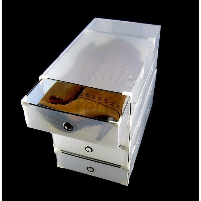 periea 4 tiroirs de rangement superposable rosa bottes achat vente casier pour meuble. Black Bedroom Furniture Sets. Home Design Ideas