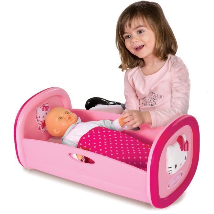 hello kitty lit bascule pour poup e achat vente accessoire poupon cdiscount. Black Bedroom Furniture Sets. Home Design Ideas