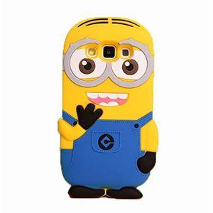 COQUE - BUMPER COQUE ETUI HOUSSE MINIONS MIGNON Samsung Galaxy Gr