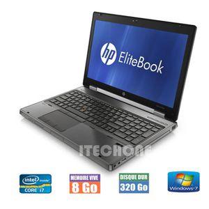 PC RECONDITIONNÉ HP EliteBook 8560w - Core i7@2,7 Ghz - Mémoire 8 G
