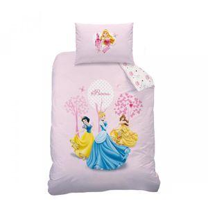 parure de lit enfant princesse achat vente parure de. Black Bedroom Furniture Sets. Home Design Ideas