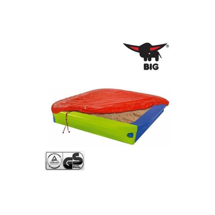bac sable big sandpit avec bache de protection achat. Black Bedroom Furniture Sets. Home Design Ideas