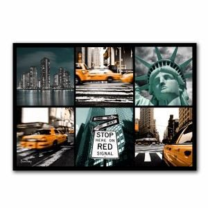 Tableau mosa que new york moderne achat vente tableau for Tableau moderne new york