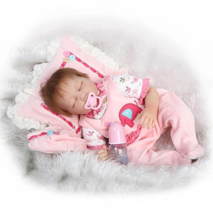 22 39 39 55cm b b poup e jouets pour filles reborn b b fille. Black Bedroom Furniture Sets. Home Design Ideas