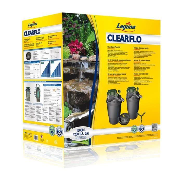 clearflo 16000 syst 232 me de filtration pour bassin achat vente bassin d ext 233 rieur syst 232 me