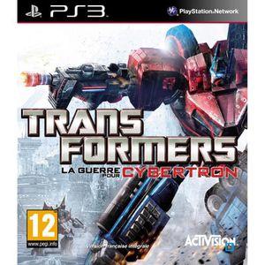 JEU PS3 TRANSFORMERS : La guerre pour Cybertron / JEU CONS