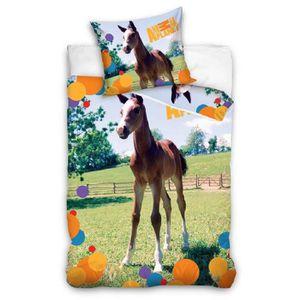 parure de lit cheval 1 personne achat vente parure de lit cheval 1 personne pas cher les. Black Bedroom Furniture Sets. Home Design Ideas