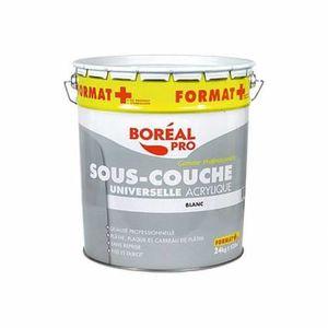 Peinture acrylique mat blanc 10 l achat vente peinture - Sous couche acrylique ou glycero ...