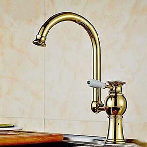 Robinet cuisine dore achat vente robinet cuisine dore pas cher cdiscount - Robinet douchette cuisine pas cher ...