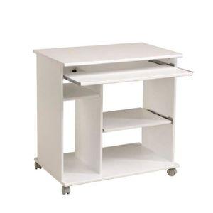 bureau informatique avec roulettes achat vente bureau. Black Bedroom Furniture Sets. Home Design Ideas