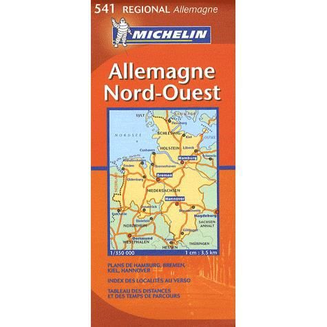 carte routiere 541 allemagne nord ouest edition achat vente livre collectif michelin. Black Bedroom Furniture Sets. Home Design Ideas