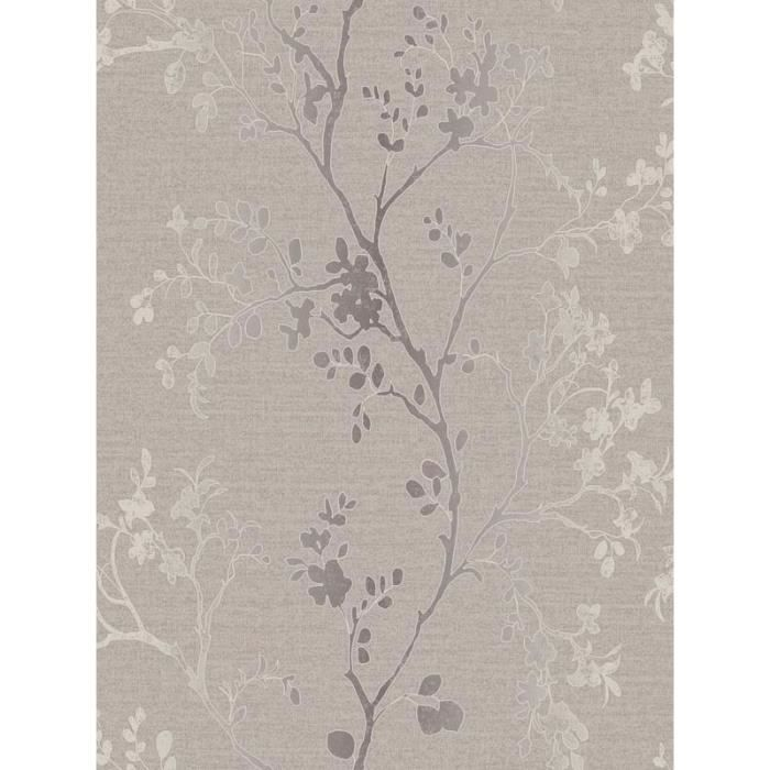 papier peint branche arbre or m tal achat vente papier peint cdiscount. Black Bedroom Furniture Sets. Home Design Ideas
