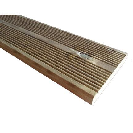 Kit terrasse bois 10 m poser sur dalle b ton achat vente revetement e - Achat lame terrasse bois ...