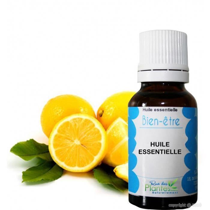 huile essentielle de citron 30ml achat vente huile essentielle huile essentielle de citro. Black Bedroom Furniture Sets. Home Design Ideas