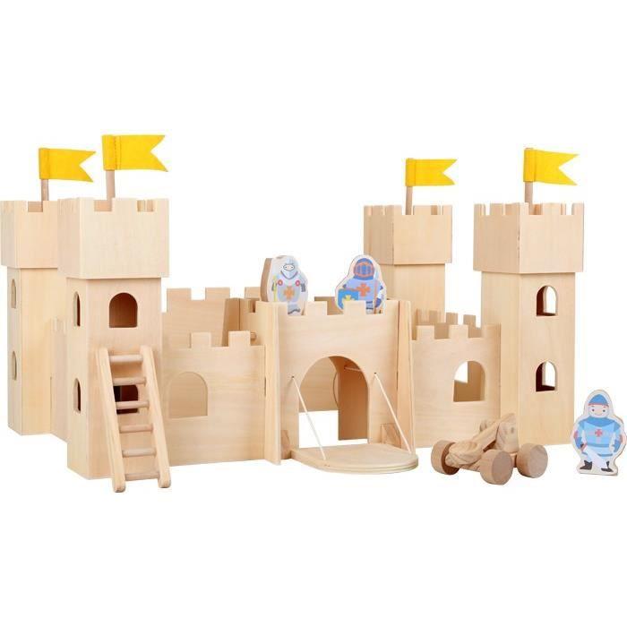 chateau fort bois achat vente jeux et jouets pas chers. Black Bedroom Furniture Sets. Home Design Ideas