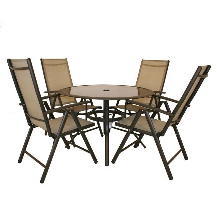 bentley garden salon de jardin 5 pi ces table et