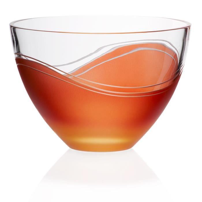 coupe fruits elements 21 cm orange rouge achat vente porte fruits coupe cdiscount. Black Bedroom Furniture Sets. Home Design Ideas
