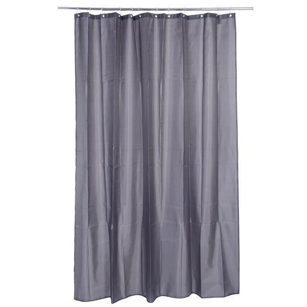 rideau de douche soft touch 180 x 200 cm gris achat vente rideau de douche cdiscount. Black Bedroom Furniture Sets. Home Design Ideas