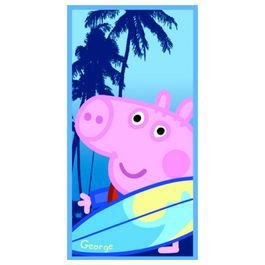Peppa pig serviette de bain ou de plage george achat - Peppa cochon a la plage ...