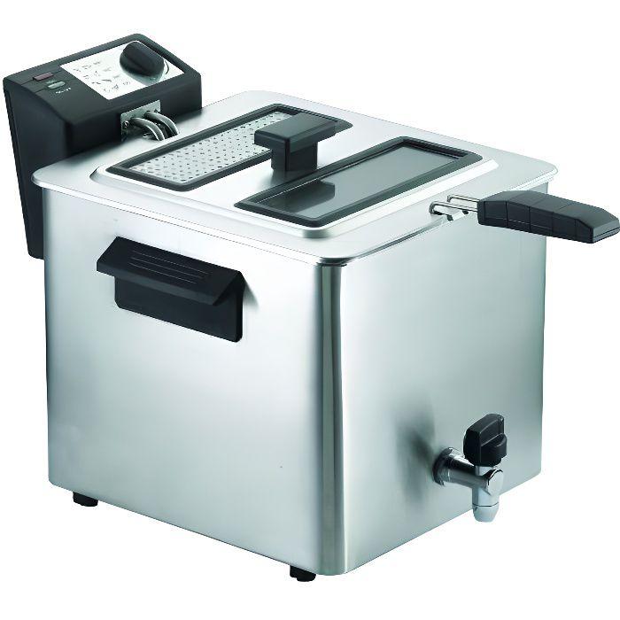 friteuse grande capacit 8 litres achat vente friteuse electrique cdiscount