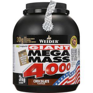 WEIDER Mega Mass 4000 Chocolat 3 kg NTT