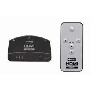 CÂBLE JEUX VIDEO Sélecteur HDMI avec Télécommande XBOX 360