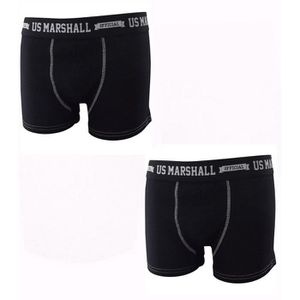 BOXER - SHORTY pack 2 boxers homme us marshall en coton