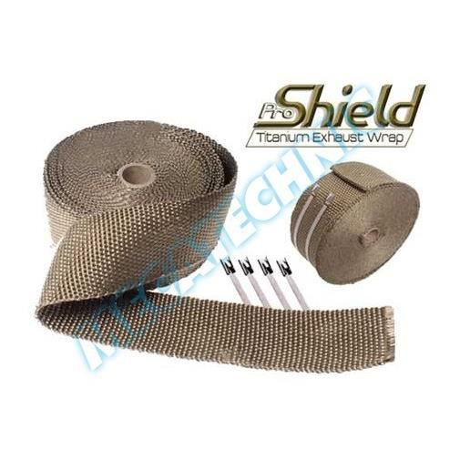 bandage anti chaleur en fibres de titane pour achat vente pot d 39 echappement bandage anti. Black Bedroom Furniture Sets. Home Design Ideas