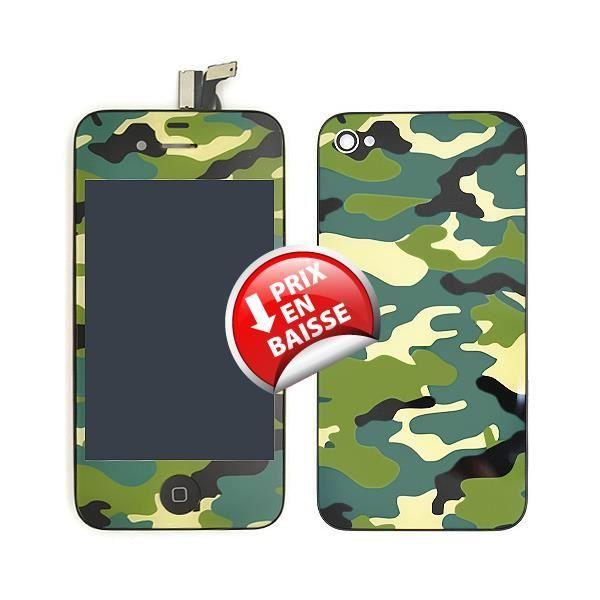 kit changement de couleur camouflage iphone 4s achat pi ce t l phone pas cher avis et. Black Bedroom Furniture Sets. Home Design Ideas