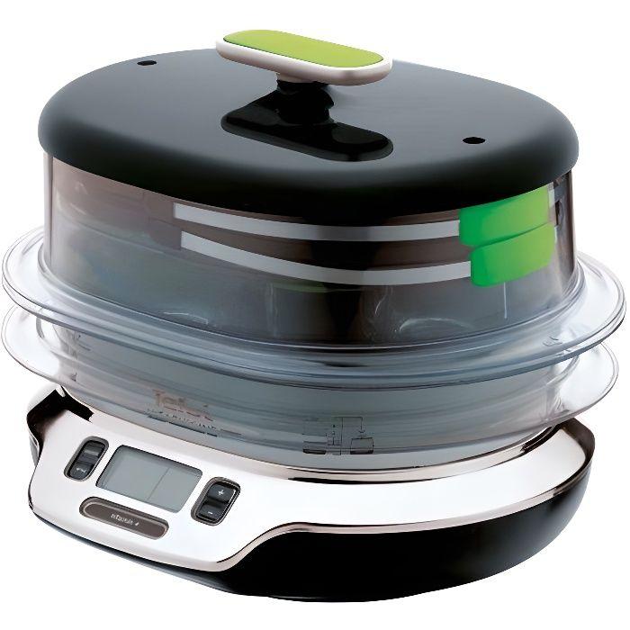 Tefal vs4003 cuiseur vapeur vitacuisine compact 1800 w for Appareil vapeur cuisine