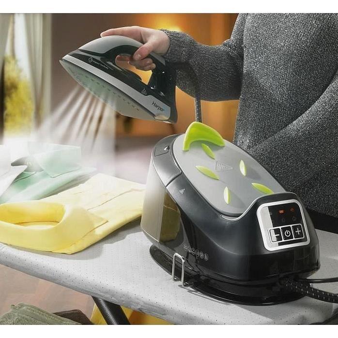 Centrale vapeur fer ceramique 2400 watts 6 bars pressing achat vente cent - Fer a repasser pressing ...