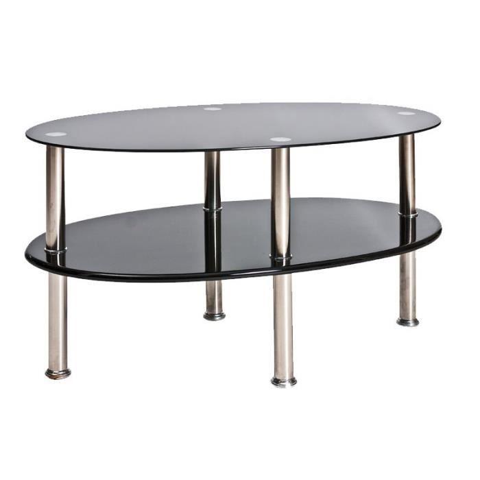 Table basse salon pas cher maison design for Table basse noir pas cher