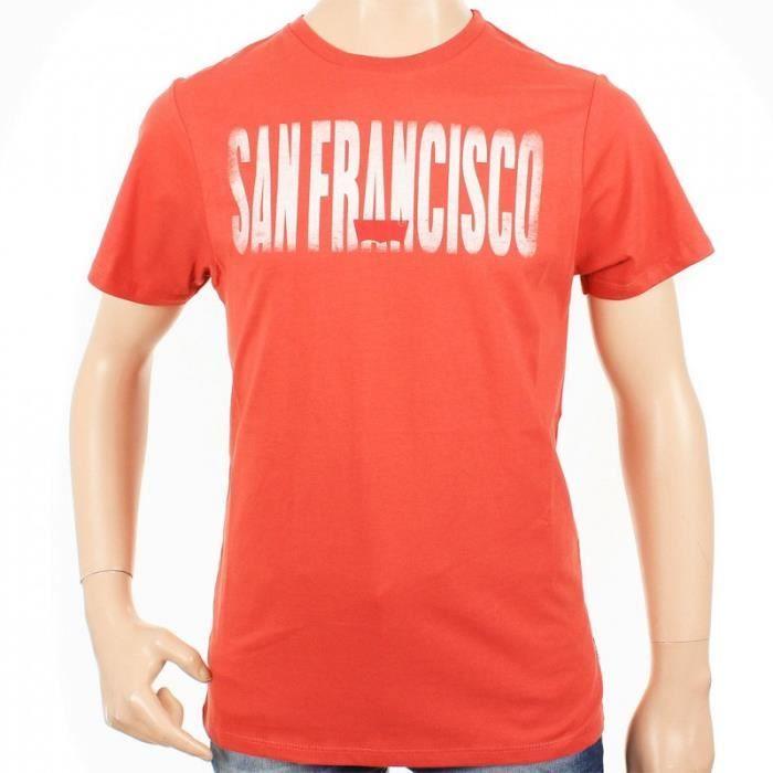 tee shirt levis enfant frisco rouge achat vente t shirt cdiscount. Black Bedroom Furniture Sets. Home Design Ideas