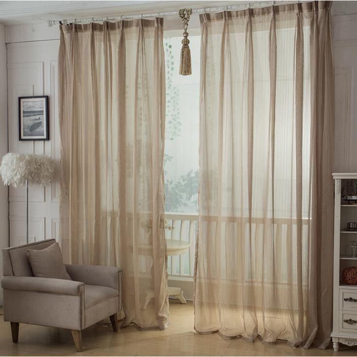 L gants rideaux nets main pour salon rideaux de style en for Deco rideaux pour salon