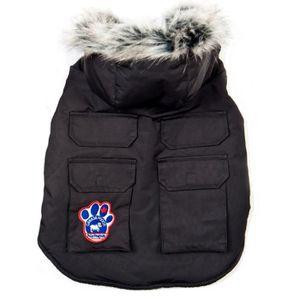 CANADA POOCH Veste Explorateur T14 - Noir - Pour chien 5-8kg