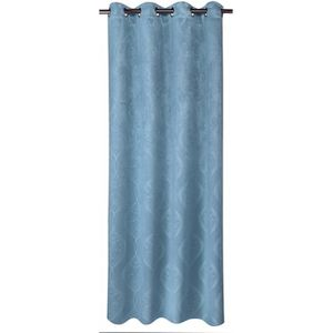 rideaux bleu achat vente rideaux bleu pas cher cdiscount. Black Bedroom Furniture Sets. Home Design Ideas