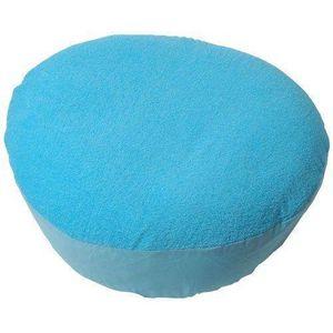 Pouf turquoise achat vente pouf turquoise pas cher for Housse de coussin turquoise