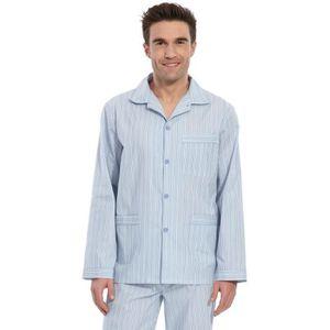 CHEMISE DE NUIT Pyjama homme en flanelle pur coton