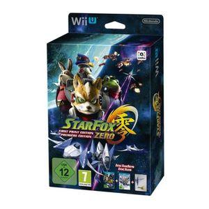 JEUX WII U Star Fox Zero Première Edition / Edition Limitée J