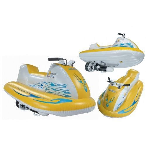 jet ski lectrique gonflable alpina garden achat vente jeux de piscine cdiscount. Black Bedroom Furniture Sets. Home Design Ideas